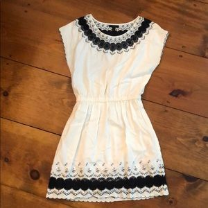 J Crew Embroidered Dress